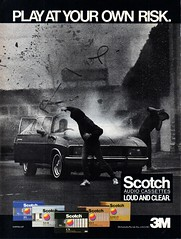 1985 Scotch Audio Cassettes XC Ford Falcon Aussie Original Magazine Advertisement (Darren Marlow) Tags: 1 5 8 9 19 85 1985 s scotch a audio c cassettes car player p m music sound melody automobile v vehicle rock n r roll classical country blues b x xc f ford falcon aussie australian australia 80s