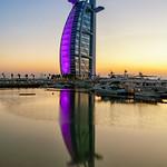 Burj Al Arab - Sunset thumbnail