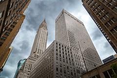 Chrysler Building (kareszzz) Tags: afterstorm ny nyc clouds building architecture us usa newyork chryslerbuilding artdeco canon6d ef24105 manhattan photowalk city angle