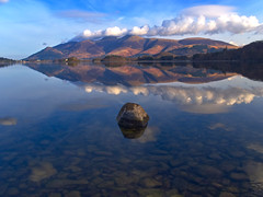 Reflection of the mountain (nkimber305) Tags: lakedistrict reflections cumbria landscapephotography landscape olympusomd em1 spring