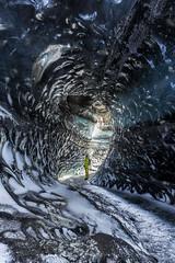 Katla Ice cave (Arnaud Grimaldi) Tags: ice cave iceland islande katlatrack january winter mýrdalsjökull glacier vìk