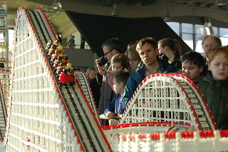 LEGO Cyclone Roller coaster at Floating Bricks Hamburg 2018