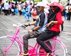 Jakarta! (-Faisal Aljunied - !!) Tags: 75mm pink couple kotatua bicycle indonesia jakarta omdem5 olympus faisalaljunied