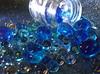 blue (Grenzeloos1) Tags: hmm macromondays themeblue bubbles blue soap jar