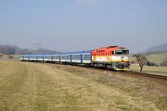 754.012 by marcello.sk - Sp 1643 Hostýn z Brna do Frenštátu pod Radhoštem kúsok pred svojou cieľovou stanicou 24.3.2018