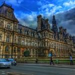 Paris France - The Hôtel de Ville - City Hall - Landmark Monuments thumbnail