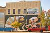 A mural at the Kress (radargeek) Tags: mural fortsmith ar arkansas painting art downtown kress alien architecture anamaria cicada octopus