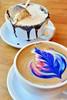 Cafe Astoria (jpellgen (@1179_jp)) Tags: latte latteart coffee mocha cafeastoria astoria drinks drink food foodporn twincities saintpaul stpaul minnesota mn midwest usa america nikon d7200 nikkor 35mm smores chocolate marshmallow rainbow rainbowlatte
