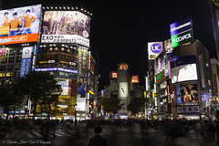 Race v2..., Shibuya, Tokyo (- photozol -) Tags: tokyo kantoregion japan shibuya sony nex7 sel1670z zeiss carlzeiss variotessar16704za night nightscape city cityscape metropolis skyline person neon architecture mo mirrorless apsc town tower travel modern asia new hitech cross zebra