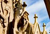 Exterior details of Sagrada Familia (Santiago Montero Mendieta) Tags: barcelona sagrada familia gaudi