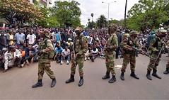 Zimbabwe tells Robert Mugabe to go! Solidarity March, 18 Nov 2017 (Zimbabwean-eyes) Tags: zimbabwe africa mugabe harare bulawayo army coup solidarity march politics flag