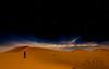 ALONE IN THE DESERT - SOLO EN EL DESIERTO (TONY-BUENO - Barcelona) Tags: canon eos 70d 1635f28 desert desierto dunas dune desertbreath marruecos marroc night nighshoot stars estrellas sky