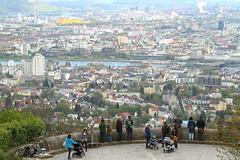 Linz in Oberösterreich. (blitzer60) Tags: stadt linz oberösterreich österreich farbfoto canon 7d pöstlingberg urfahr earth city