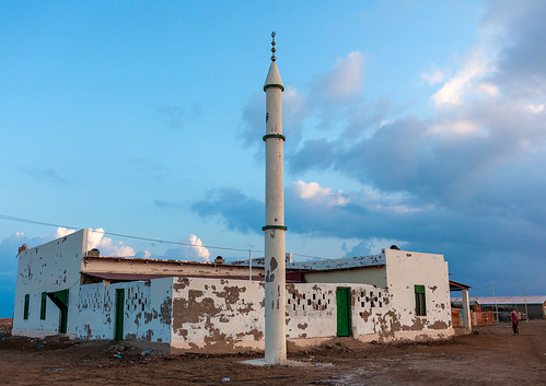 Mosque in the city, Awdal region, Zeila, Somaliland