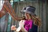 (Continuation) (Robbie McIntosh) Tags: leicam9p leica m9p rangefinder streetphotography 35mm leicam summilux leicasummilux35mmf14i summilux35mmf14i autaut summilux35mmf14preasph woman girl musician harp zena hat smile