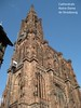 Catherdrale Notre-Dame de Strasbourg (PDX Bailey) Tags: notredame exterior church blue sky elevator construction