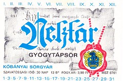 Hungary - Köbanyai Sörgyar (Budapest) (cigpack.at) Tags: köbanyai sörgyar budapest hungary ungarn nektar gyogytapsör bier beer brauerei brewery label etikett bierflasche bieretikett flaschenetikett