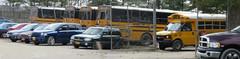 Arthur F. Mulligan Rondout Valley Yard (ThoseGuys119) Tags: arthurfmulliganinc schoolbus saftliner c2 thomas built