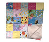 Patchwork Flannel Baby Blanket (initial_impressions) Tags: embroidered personalized patchworkflannelbabyblanket