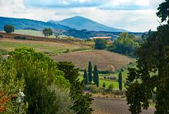 Monte Amiata from Monticchiello (john weiss) Tags: italy labcurves labsharp11 labsky lrdehaze lrvibrance monteamiata montechiello places valdorcia edits