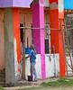 Worli Village (grab a shot) Tags: canon eos 5dmarkiv india maharashtra mumbai 2018 outdoor worlivillage fishermen fishingvillage roublenagiartfoundation painters man