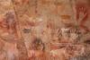 near Estancia La Criolla, Cueva de las Manos (blauepics) Tags: argentina argentinien patagonia patagonien santa cruz province provinz provincia estancia la criolla stones steine rocks felsen desert wüste cueva de las manos unesco world heritage site weltkulturerbe hands hände höhle cave höhlenmalerei art kunst painting images bilder animal tier