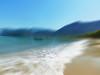 Little boat....... (denise.bardauil) Tags: mar oceano areia praia barco ondas montanhas