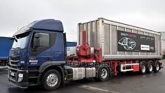 D - Greiwing >1455< >Lanxess< Iveco Stralis 400 (BonsaiTruck) Tags: lkw lastwagen lastzug truck trucks lorry lorries camion boxcontainer 30ft kippchassisgreiwing 1266 1455 iveco stralis scania ng lanxess durethan pucan lag