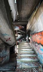 IMG_0249-50 (trevor.patt) Tags: gresleri parmeggiani daini architecture modernist brutalist concrete ruin religious bologna it casalecchio trespass panorama