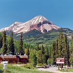 Engineer Mountain over The Lodge at Purgatory, Colorado thumbnail