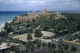 Kalakaua BEV Waikiki West 1957