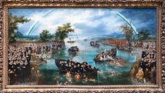 Fishing for Souls   Adriaen Pietersz. van de Venne   1614   The Rijksmuseum-77 (Paul Dykes) Tags: rijksmuseum museumofthenetherlands art gallery museum amsterdam netherlands nl holland fishingforsouls adriaenpieterszvandevenne 1614