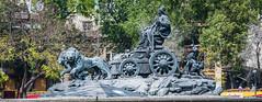 2018 - Mexico City - Fuente de Cibeles (Ted's photos - For Me & You) Tags: 2018 cdmx cityofmexico cropped mexico mexicocity nikon nikond750 nikonfx tedmcgrath tedsphotos tedsphotosmexico vignetting fuentedecibeles fuente fountain wideangle widescreen chariot sculpture