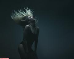 Cassie (VK3Photographix) Tags: female feminine hair hairflip dark moody darkbeauty sinister fit fitness emotive