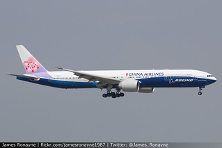 B-18007 | Boeing 777-309ER | China Airlines