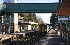 150279 Llandaf 29/11/2017 (Flash_3939) Tags: 150279 class150 dmu dieselmultipleunit arrivatrainswales atw cardiff valleylines lln llandaf station 2m22 rail railway train uk november 2017