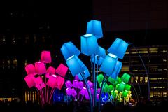 Llum BCN (bienve958) Tags: llumbcn light night poblenou architecture urban art glorias saariysqualitypictures