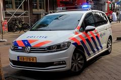 Politie Volkswagen Touran Patrol Car (PFB-999) Tags: politie dutch police volkswagen touran mpv response patrol car vehicle unit lightbar grilles leds kb178r amsterdam netherlands holland