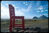 Red chair (franz75) Tags: nikon d80 islanda iceland landscape paesaggio roccia rocks sedia chair