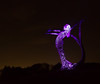 365 Challenge - Day 79 (Mr_Souter) Tags: aria scotland statue night 365challenge yearofpictures purple epg365 places day79 europe uk cumbernauld