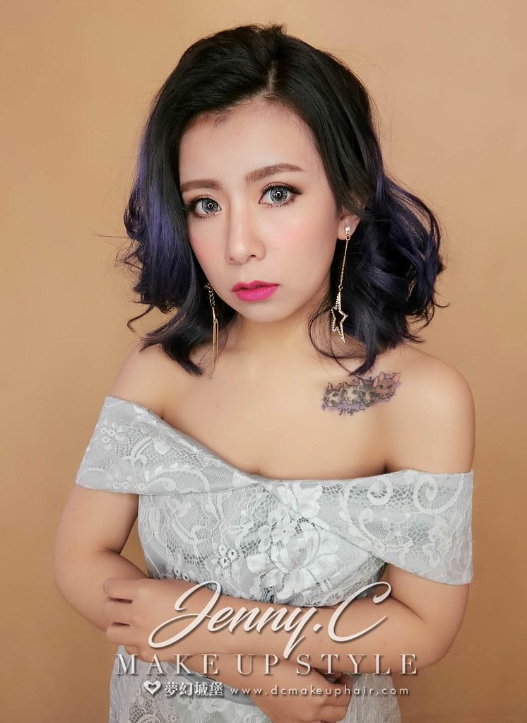 【新秘蓁妮】新娘造型創作 / 微捲造型