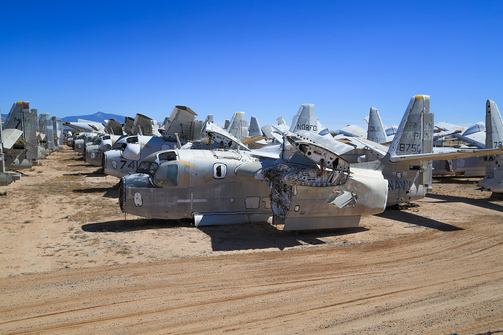The World's most recently posted photos of junkyard and plane