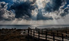 2017-07-a-F3540 copia (Fotgrafo-robby25) Tags: elmojón fujifilmxt2 marmediterráneo murcia nubes rayosdesol