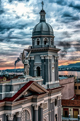 Sunset on the top of Casa Granda - 2 (AaronP65 - Thnx for over 13 million views) Tags: sunset casagranda santiago cuba