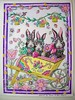 Bunny (Lynne M. B.) Tags: coloringadults coloring coloringbook coloredpencils drawing art illustration prismacolor tombow fabercastellpolychromos