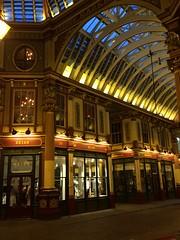 Nightime (My photos live here) Tags: london capital city england leadenhall market gracechirch street