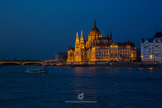 The Parliament of Hungary at Night, Budapest