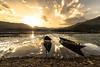 Pokhara lake (Alexandre Carpentier) Tags: annapurna annapurnacircuit nepal pokhara rando trek westernregion népal np voyage sunset colors explore best lake asie
