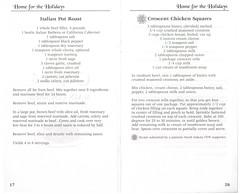 Home For The Holidays Volume 5 2001 PH0099 17 (Eudaemonius) Tags: ph0099 home for the holidays volume 5 eudaemonius bluemarblebounty cookbook cooking cook book recipe recipes 2001 17 italian pot roast crescent chicken squares