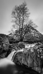 Buachaille Etive Mòr (Ian D) Tags: buachailleetivemòr waterfall mountain scotland winter longexposure glencoe